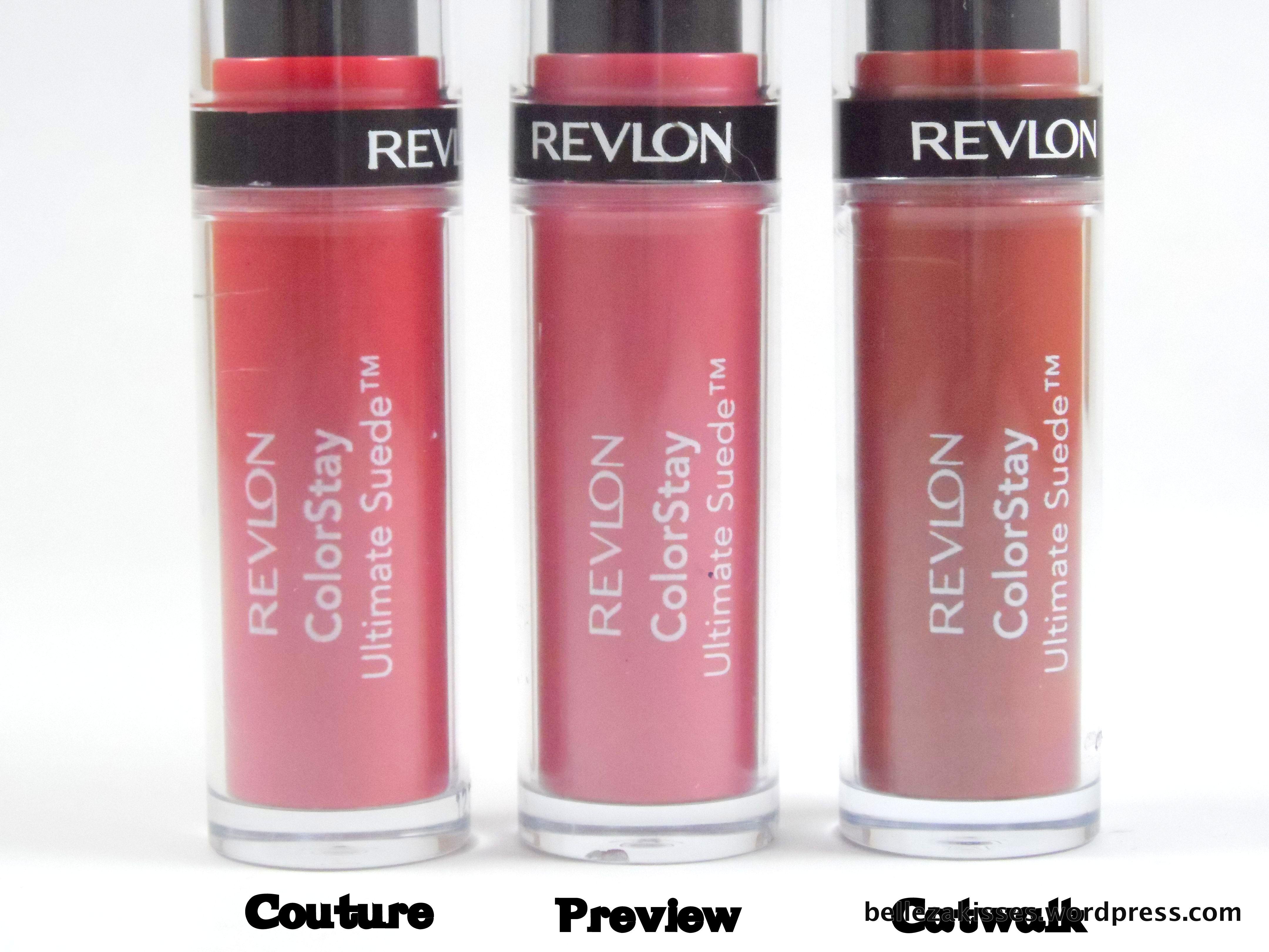 Revlon ColorStay Ultimate Suede - Belleza Kisses